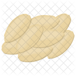 Pine Nuts Icon
