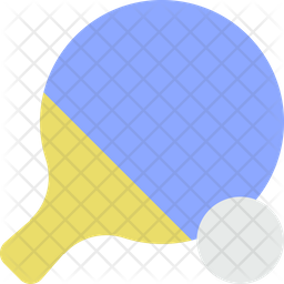 Ping pong Flat Icon