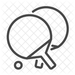 Ping Pong Rackets Icon