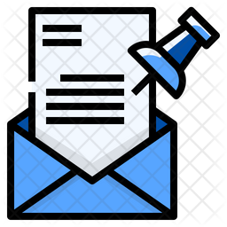 Pinned mail Icon