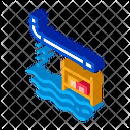 Pipe Leakage Icon
