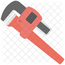 Pipe Wrench Icon