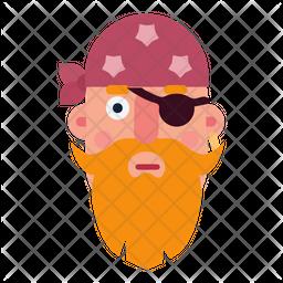 Pirate Flat Icon