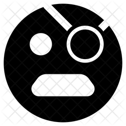 Pirate Face Emoji Icon