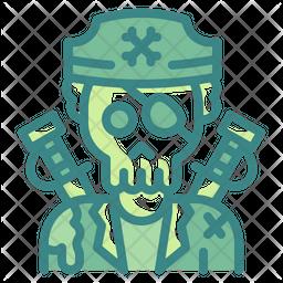 Pirate Ghost Dualtone Icon