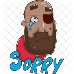 Pirate Say Sorry Icon