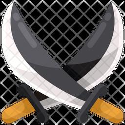 Pirate Sword Icon
