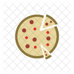 Pizza Icon Of Flat Style Available In Svg Png Eps Ai Icon Fonts