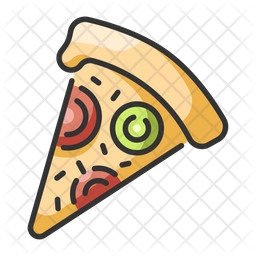 Pizza Icon Of Colored Outline Style Available In Svg Png Eps Ai Icon Fonts