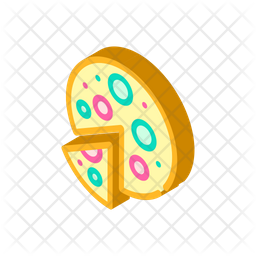 Pizza Icon Of Isometric Style Available In Svg Png Eps Ai Icon Fonts