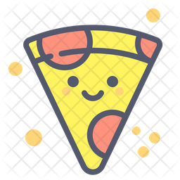 Pizza Slice Icon Of Colored Outline Style Available In Svg Png Eps Ai Icon Fonts