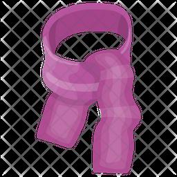 Plaid Scarf Icon