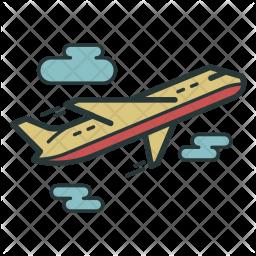 Plane, Aeroplane, Travel, Flight, Transport Icon png