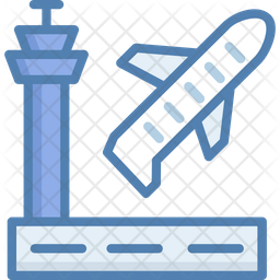 Plane Take Off Icon