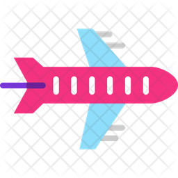 Plane Take Off Icon