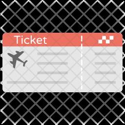 Plane Ticket Icon