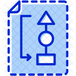 Planning Colored Outline Icon