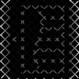 Plantation Shutter Icon