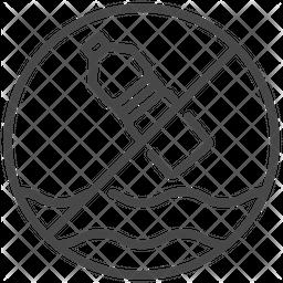 Plastic Ban Icon