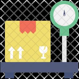 Platform Scale Flat Icon