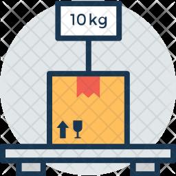 Platform Scale Icon