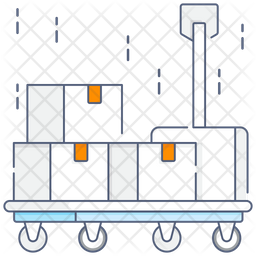 Platform Trolley Icon