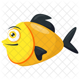 Platy Fish Icon Of Flat Style Available In Svg Png Eps Ai Icon Fonts
