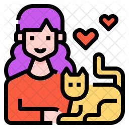 Playing With Cat Icon