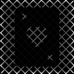 Playingcard Glyph Icon