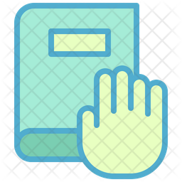 Pledge Colored Outline Icon