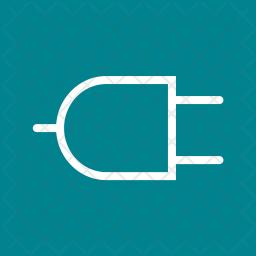 Plug Line Icon