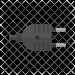 Plug Flat Icon