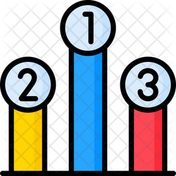 Podium Chart Icon