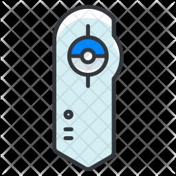 Pokedex Colored Outline Icon