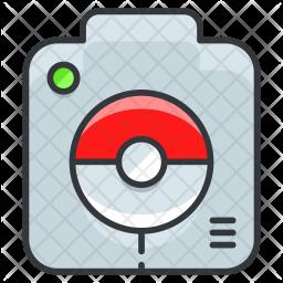Pokedex tool Colored Outline Icon