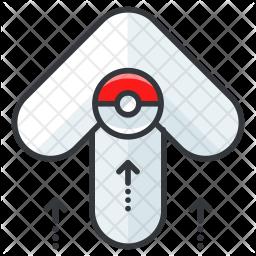Pokemon go Colored Outline Icon