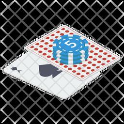 Poker Card Game Icon