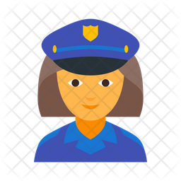 Police Officer Female Icon