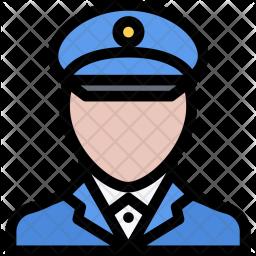 Policeman, Law, Crime, Judge, Court, Police Icon