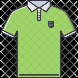 Polo tshirt Icon