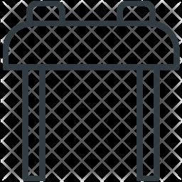 Pommel Line Icon