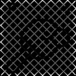 Pong Line Icon