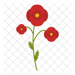 Poppy field Icon