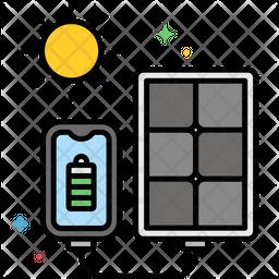 Portable Solar Panel Icon