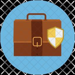 Portfolio shield Icon