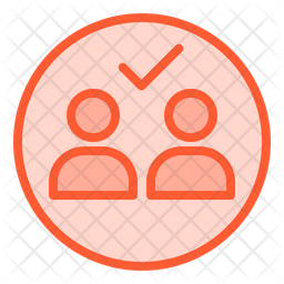 Portion for two people Icon