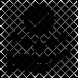 Positive feedback Glyph Icon