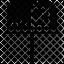 Postbox Glyph Icon