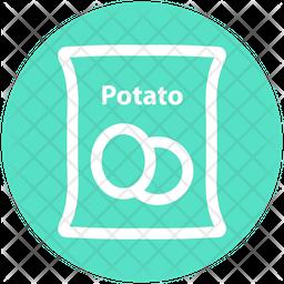 Potato Sack Icon