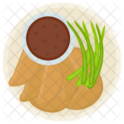 Potato Wedges Icon